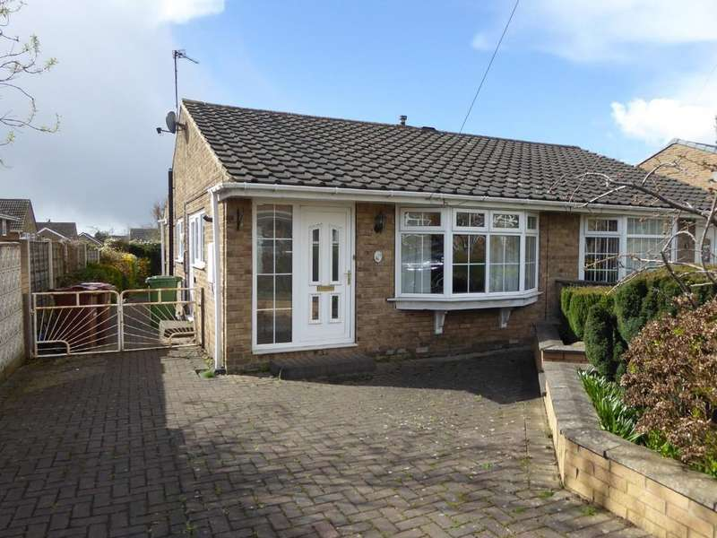 2 Bedrooms Semi Detached Bungalow for sale in The Orchard, Wrenthorpe