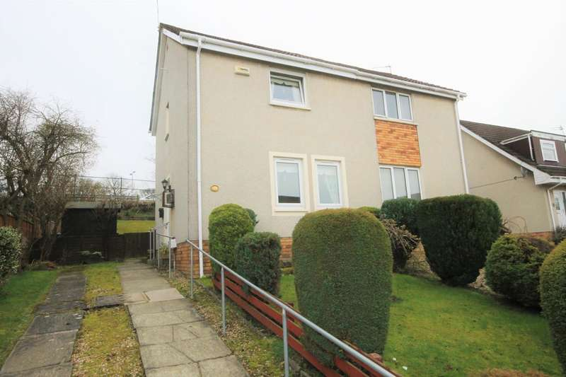 2 Bedrooms Semi Detached House for sale in Cherrybank Walk, Airdrie