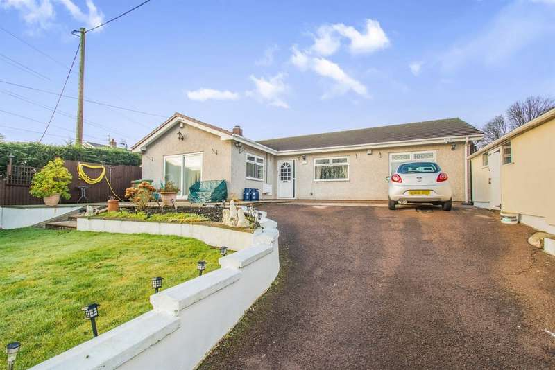4 Bedrooms Detached Bungalow for sale in Greenmeadow Bungalow, Glan Y Nant, Blackwood