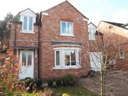 4 Bedrooms Detached House for sale in Howards Court, Kirby Muxloe, Leicester, Leicestershire