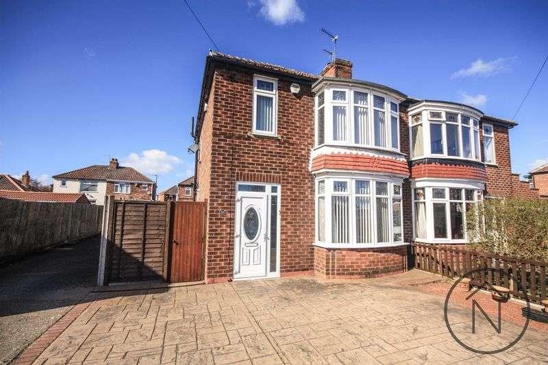 3 Bedrooms Semi Detached House for sale in Wolviston Road, Billingham