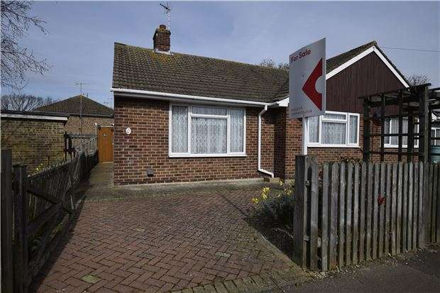 2 Bedrooms Semi Detached Bungalow for sale in Springfield Road, BEXHILL-ON-SEA, East Sussex, TN40 2BJ