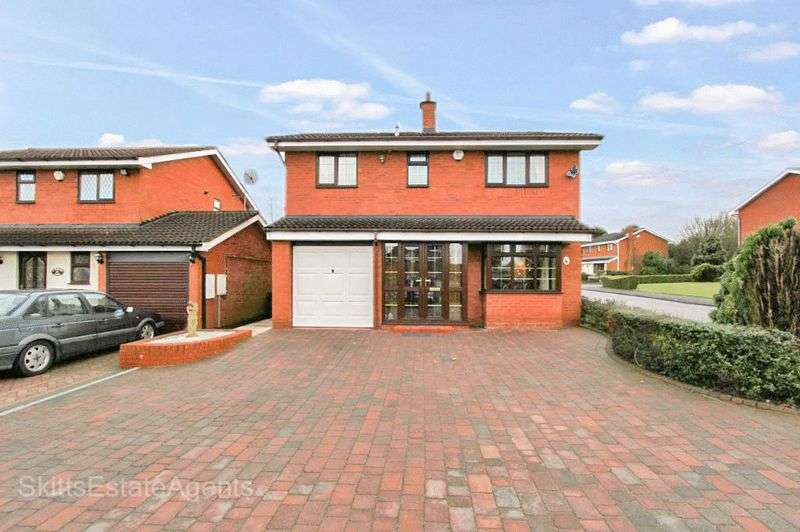 4 Bedrooms Detached House for sale in Foxglove Close, Pelsall Walsall