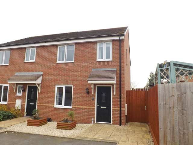 3 Bedrooms Semi Detached House for sale in Pippin Croft, Evesham