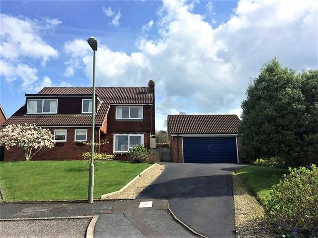4 Bedrooms Detached House for sale in Hickory Close, Honiton