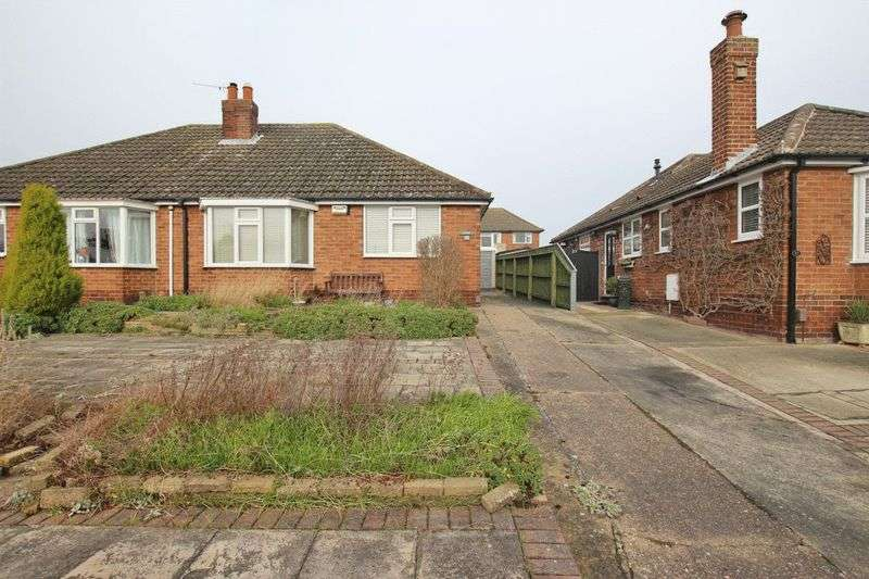 2 Bedrooms Semi Detached Bungalow for sale in LYNTON RISE, CLEETHORPES