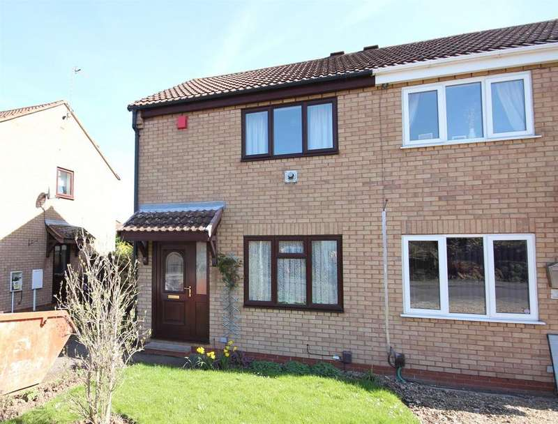 2 Bedrooms Semi Detached House for sale in Glastonbury Road, Alvaston, Derby