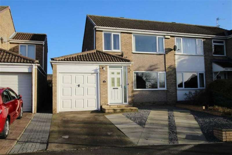 3 Bedrooms Semi Detached House for sale in Lascelles Avenue, Newton Aycliffe, County Durham