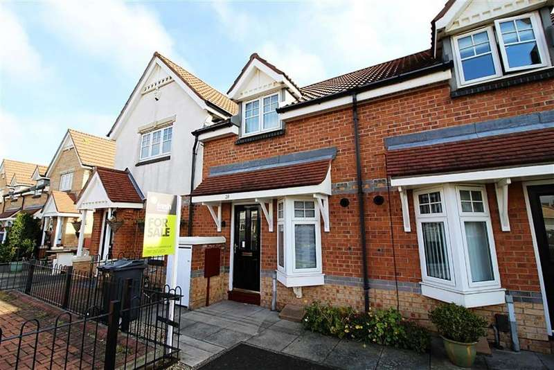 2 Bedrooms Semi Detached House for sale in Oakham Gardens, North Shields