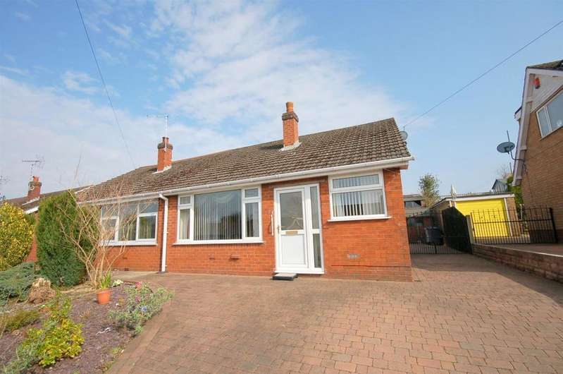 2 Bedrooms Semi Detached Bungalow for sale in Brown Avenue, Church Lawton