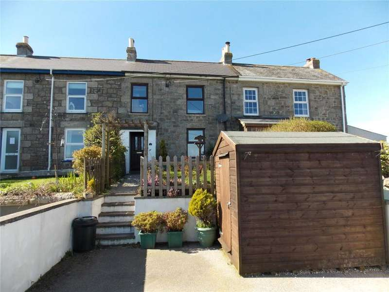 3 Bedrooms Terraced House for sale in Penventon Terrace, Four Lanes, Redruth