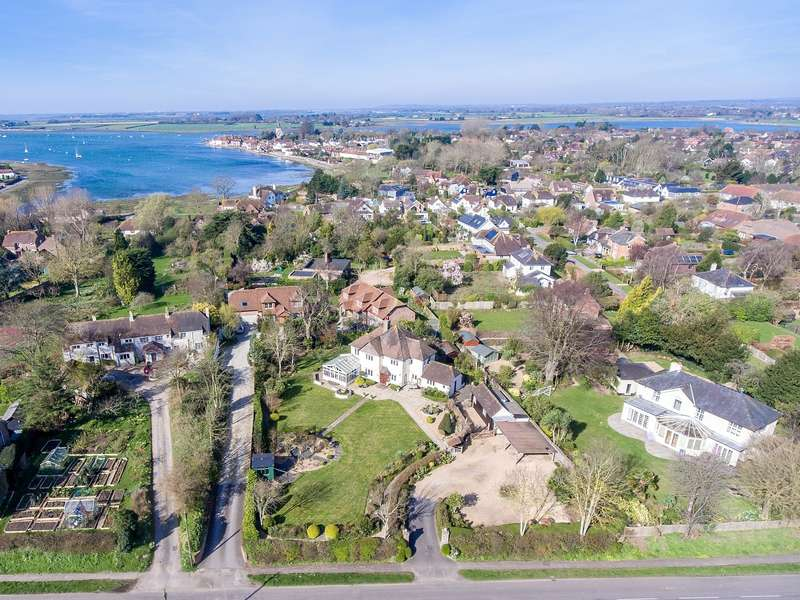 6 Bedrooms Detached House for sale in Taylor's Lane, Bosham, PO18