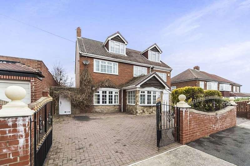6 Bedrooms Detached House for sale in Hillcrest, Middle Herrington, Sunderland, SR3