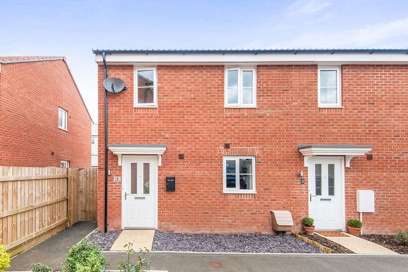 2 Bedrooms Semi Detached House for sale in Oakbeer Orchard, Cranbrook, Exeter, EX5