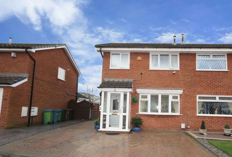 3 Bedrooms Semi Detached House for sale in Whitehouse Close, Hopwood, Heywood, OL10 2QU