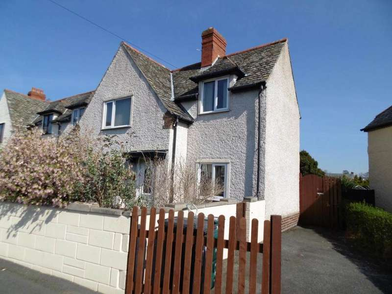 3 Bedrooms Semi Detached House for sale in 59 Marl Crescent, Llandudno Junction, LL31 9HW