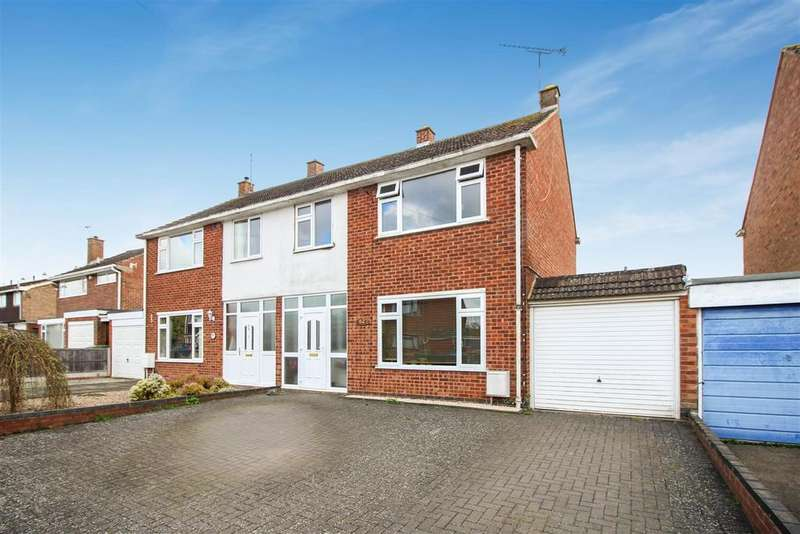 3 Bedrooms Semi Detached House for sale in Linley Road, Southam