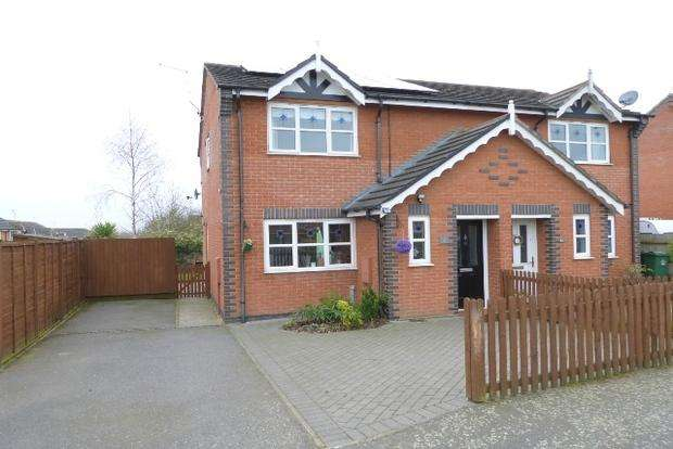 3 Bedrooms Semi Detached House for sale in Kendal Road, Sileby, Loughborough, LE12