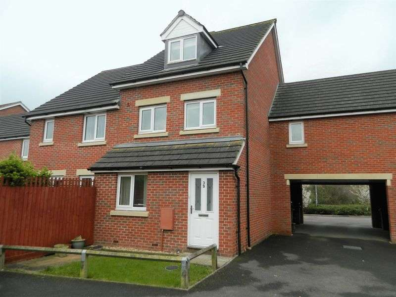 2 Bedrooms Flat for sale in Cavalier Close, Bridgwater
