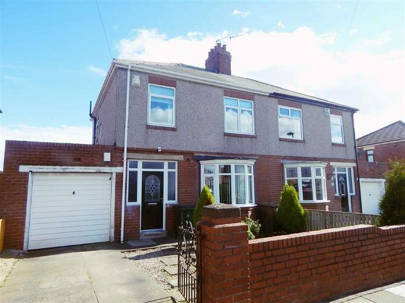 3 Bedrooms Semi Detached House for sale in Chicken Road, High Farm, Wallsend, NE28
