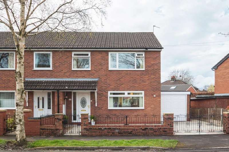3 Bedrooms Semi Detached House for sale in Sevenoaks Avenue, Davyhulme, Manchester, M41