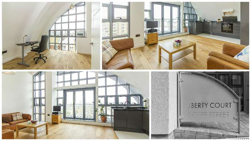 2 Bedrooms Penthouse Flat for sale in Liberty Court, Cliff Street, Ramsgate