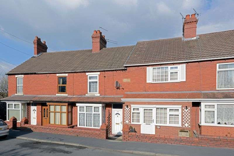 3 Bedrooms Terraced House for sale in East Road, Ketley Bank, Telford, Shropshire.