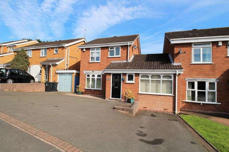 4 Bedrooms Detached House for sale in Waterfall Road, Brierley Hill