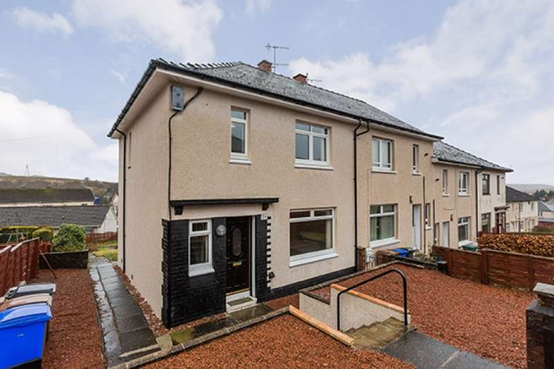 3 Bedrooms Semi Detached House for sale in Park Crescent, Dalmellington, East Ayrshire, KA6 7RR