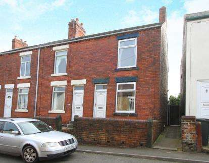 2 Bedrooms End Of Terrace House for sale in Burnell Street, Brimington, Chesterfield, Derbyshire