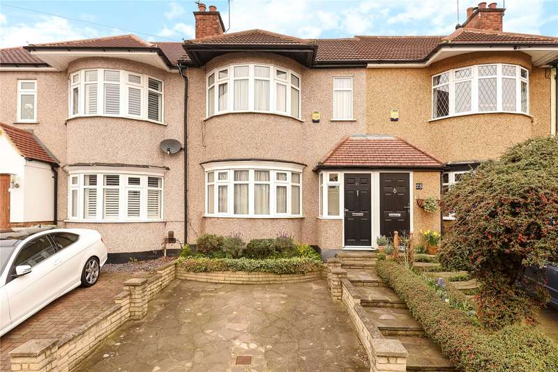 2 Bedrooms Terraced House for sale in Chelston Road, Ruislip, Middlesex, HA4