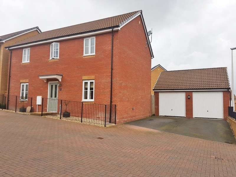4 Bedrooms Detached House for sale in Orchard Grove, Newton Abbot , Devon