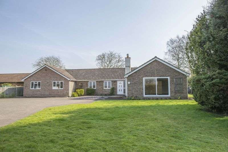 5 Bedrooms Detached Bungalow for sale in Ixworth Road, Norton