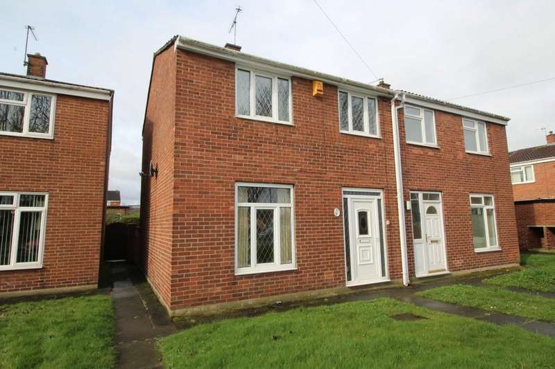2 Bedrooms Semi Detached House for sale in Eastfield Grove, Normanton