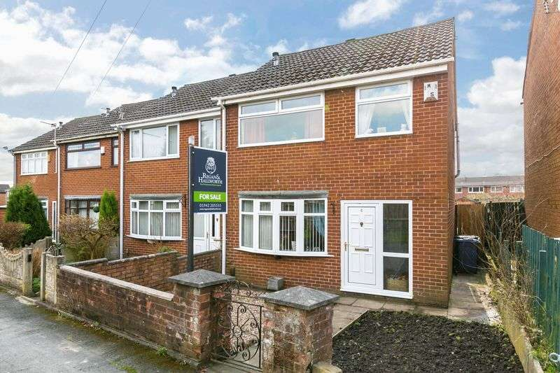 3 Bedrooms Terraced House for sale in Elizabethan Walk, Platt Bridge, WN2 5AP
