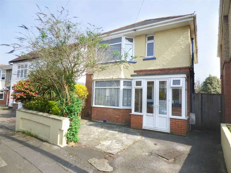 3 Bedrooms Detached House for sale in THREE BEDROOM DETACHED HOUSE IN ENSBURY PARK - HILLVIEW SCHOOL CATCHMENT - NO CHAIN
