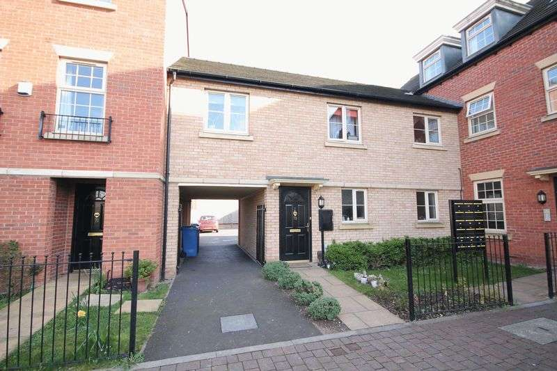 2 Bedrooms House for sale in BASEBALL DRIVE, DERBY.