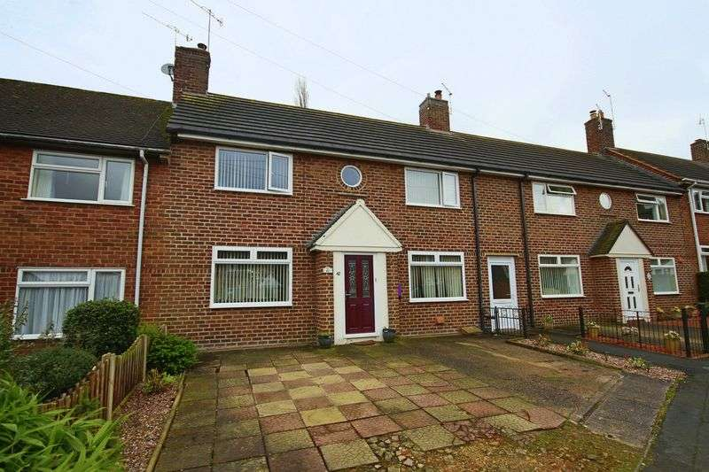 3 Bedrooms Terraced House for sale in Southwell Estate, Eccleshall, Stafford
