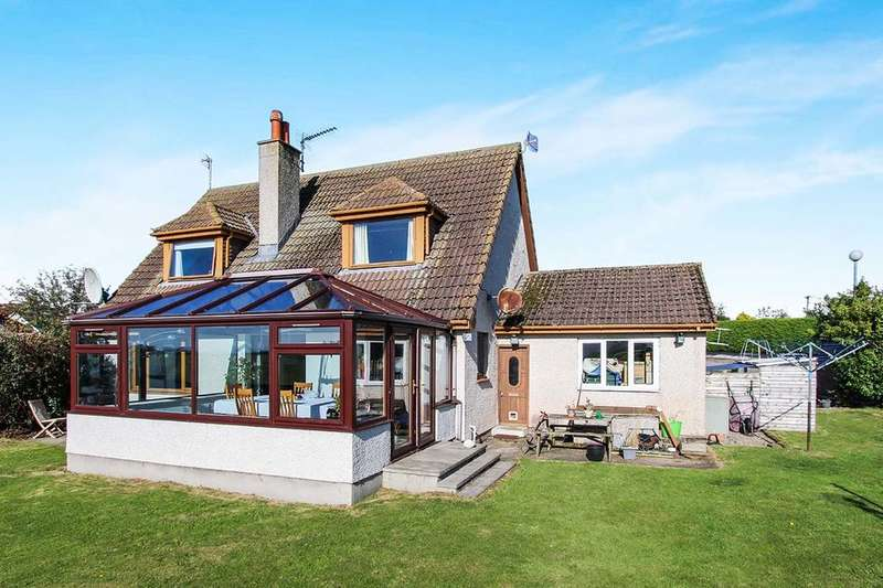 4 Bedrooms Detached House for sale in Clashnamuiach, Fearn, Tain, IV20