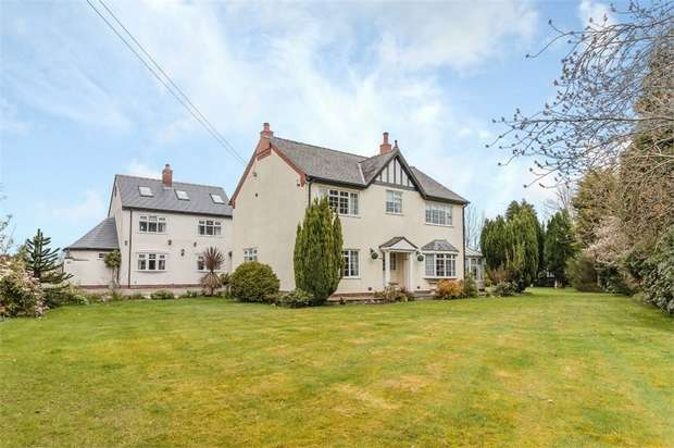 6 Bedrooms Detached House for sale in Cogshall Lane, Little Leigh, Northwich, Cheshire