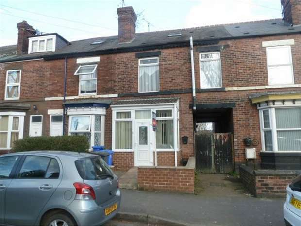 3 Bedrooms Terraced House for sale in Fir Vale Road, Sheffield, South Yorkshire