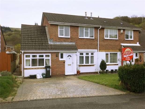 3 Bedrooms Semi Detached House for sale in Gwaun Afan, Cwmavon, Port Talbot, West Glamorgan