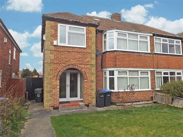 4 Bedrooms Semi Detached House for sale in Cambridge Road, Middlesbrough, North Yorkshire