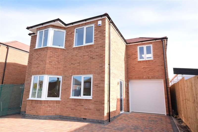 4 Bedrooms Detached House for sale in Boswell Street, Narborough, Leicester, LE19 3ED
