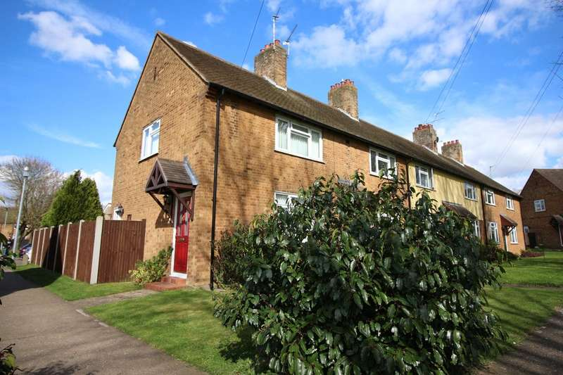 2 Bedrooms End Of Terrace House for sale in Hoveton Place, Badersfield, Norwich