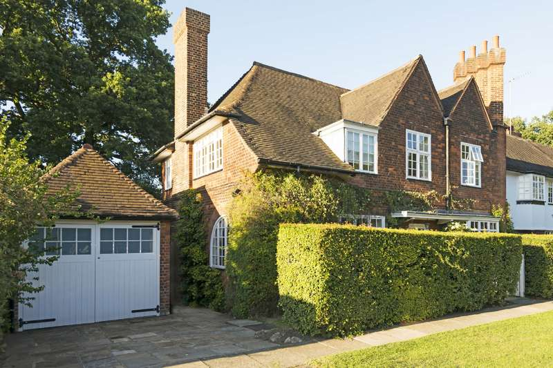 4 Bedrooms House for sale in Temple Fortune Hill, Hampstead Garden Suburb