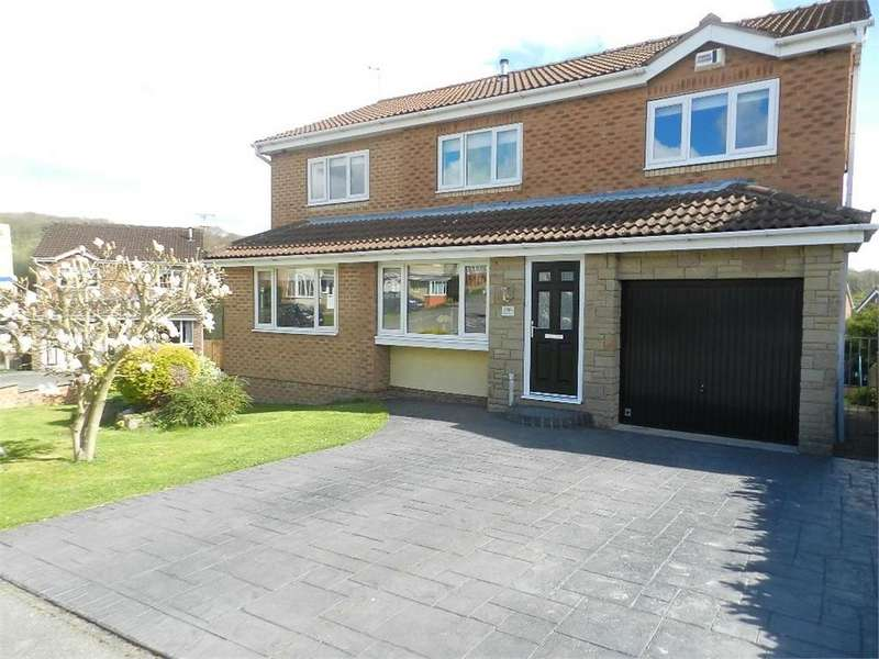 5 Bedrooms Detached House for sale in Dowland Avenue, High Green, SHEFFIELD, South Yorkshire
