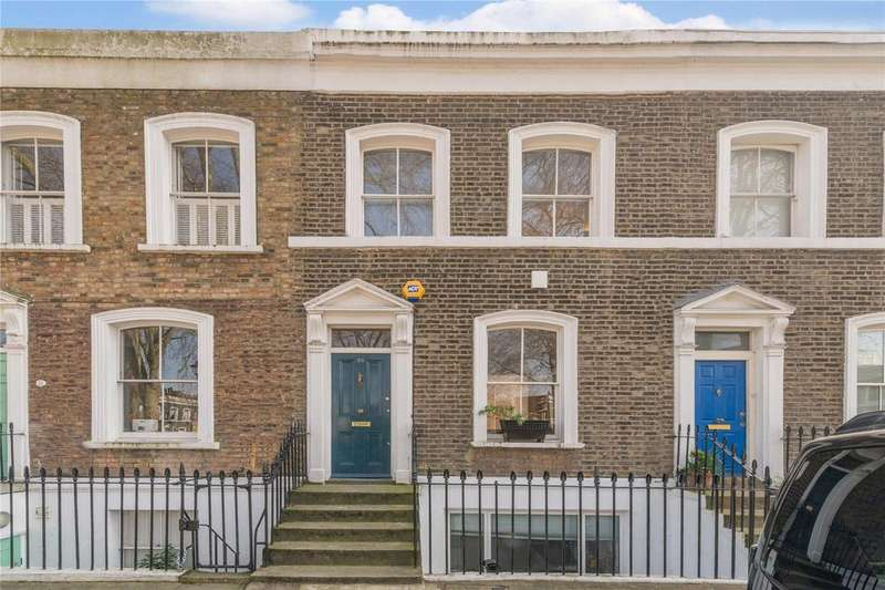 2 Bedrooms Terraced House for sale in Wilton Square, Islington, London