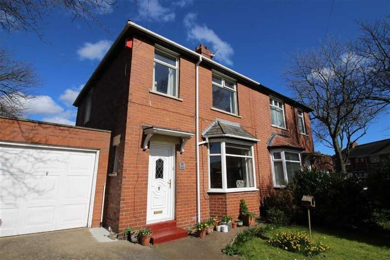 3 Bedrooms Semi Detached House for sale in Delaval Avenue, North Shields