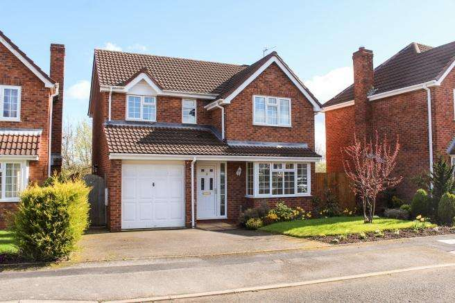 4 Bedrooms Detached House for sale in 7 Farriers Green, Newport, Shropshire, TF10 7XL